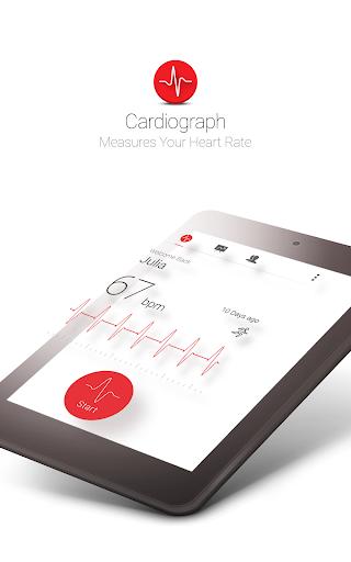 Cardiograph - Heart Rate Meter 4.1.3 Screenshots 4
