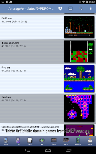 MasterGear - MasterSystem & GameGear Emulator 4.7.1 screenshots 15