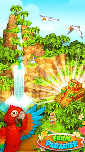 Farm Paradise - Fun farm trade game at lost island apktram screenshots 4
