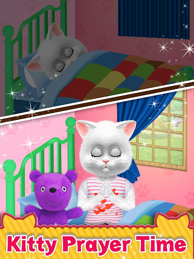 Cute Kitty Cat Care - Pet Daycare Activities Game android2mod screenshots 5