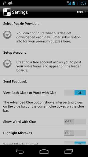 Crossword Light 2.4.5.1 screenshots 6