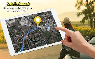 Satellite Map, Live Route Navigation & Direction