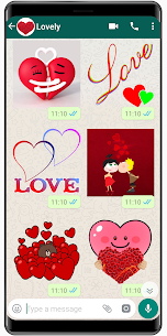 New Love Stickers 2020 ❤️ WAStickerApps Love 1.6 Android Mod + APK + Data 3