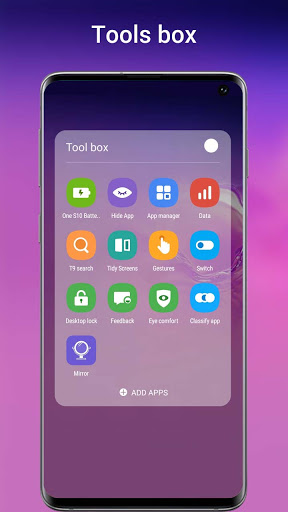 One S10 Launcher - S10 Launcher style UI, feature 6.4 Screenshots 5
