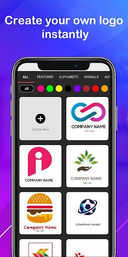 Logo maker 2021 3D logo designer, Logo Creator app 1.23 screenshots 3