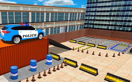 Police Jeep Spooky Stunt Parking 3D 0.4 Screenshots 14