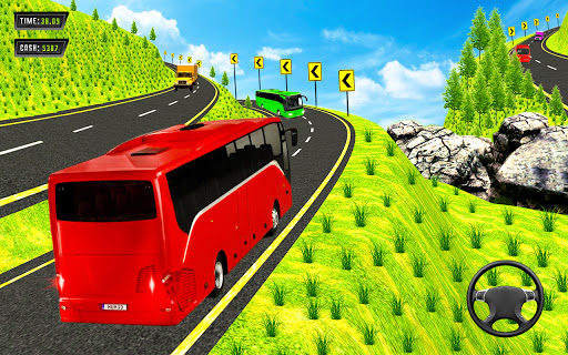 Offroad Mountains Bus Driving Simulator:Coach Game  screenshots 3