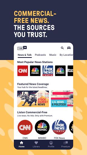 Foto do TuneIn Radio: News, Sports, Music & Radio Stations