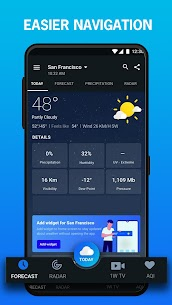 1Weather: Weather Forecast Mod Apk [Premium/Paid] Download 3