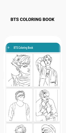 BTS Coloring Book  Screenshots 8