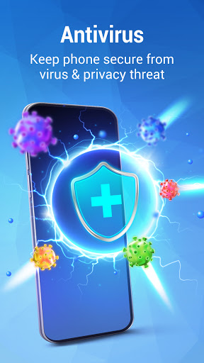 Phone Security - Antivirus Free, Cleaner, Booster  screenshots 1
