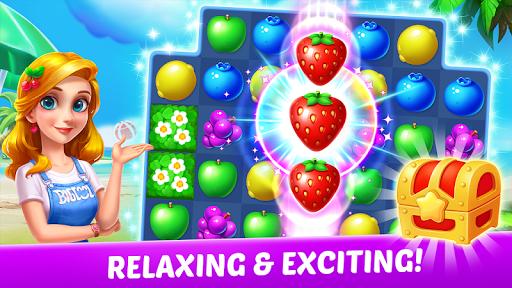 Fruit Genies - Match 3 Puzzle Games Offline screenshots 6