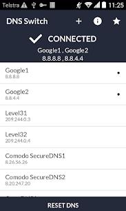 DNS Switch – Unlock Region Restrict Mod Apk (Pro Features Unlocked) 2
