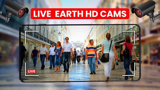World Live Earth Web Cam - All Live Cam Earth Map 2.2 Screenshots 1