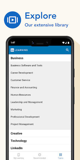 LinkedIn Learning: Online Courses to Learn Skills 0.163.25 Screenshots 7