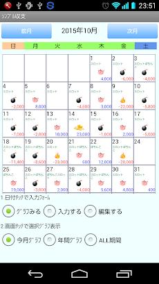 シンプル収支のスランプグラフアプリのおすすめ画像1