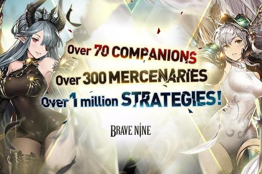 Brave Nine - Tactical RPG apklade screenshots 2