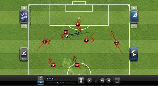 TacticalPad: Coach's Whiteboard, Sessions & Drills  Screenshots 23