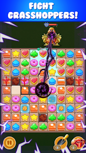 cookie sunflower : match 3 puzzle