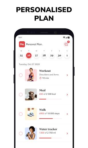 BetterMe: Home Workouts & Diet 4.0.4 Screenshots 2