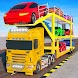 Crazy Car Transport Truck:New Offroad Driving Game
