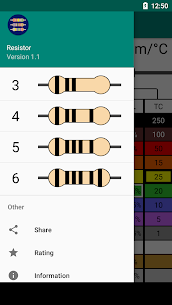 Resistor Color Code – Calculator (PRO) 1.1 Apk 5