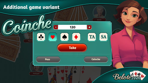 Belote.com - Free Belote Game 2.1.5 screenshots 2