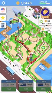 Idle Sightseeing Train – Game of Train Transport 1.1.8 Apk + Mod 1