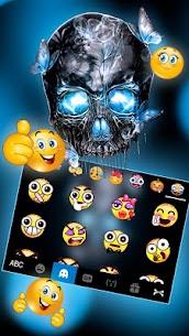 Neon Skull Keyboard Theme 1.0 MOD Apk Download 3