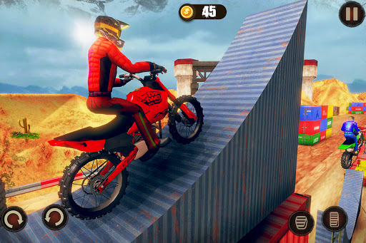 Impossible Bike Stunt Master 3D - New Moto Bike  screenshots 2