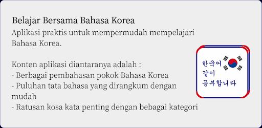 Bahasa Korea Belajar Bersama Apps On Google Play