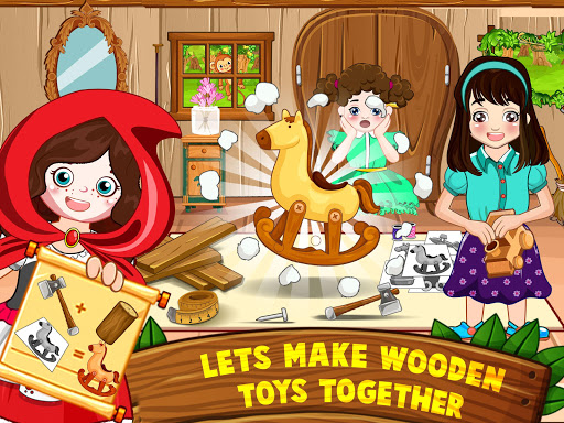 Mini Town: Red Riding Hood Fairy Tale Kids Games modavailable screenshots 11