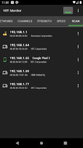 WiFi Monitor Pro: analyzer of Wi-Fi networks MOD (Paid) 4