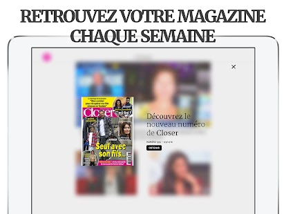 Closer – Actu et exclus People Screenshot