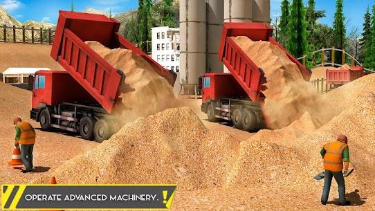 Sand Excavator Offroad Crane Transporter 3