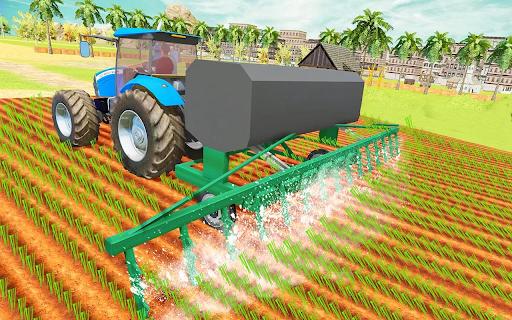 Modern Tractor Farming Simulator: Offline Games apktram screenshots 23