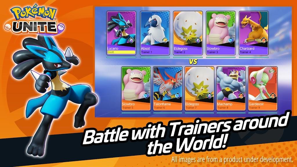 Pokémon UNITE poster 2