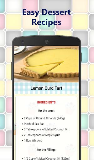 Easy Dessert Recipes for free – Cake homemade  screenshots 1