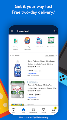 Walmart Shopping & Grocery modavailable screenshots 6