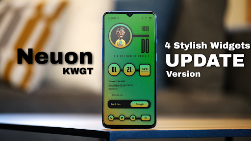 Download APK: Neuon KWGT v2021.May.23.11 [Paid]