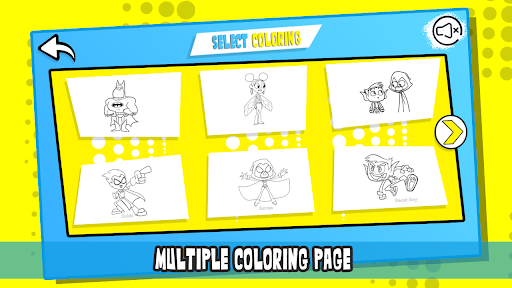 Super Titans Coloring 2.1.2 screenshots 2