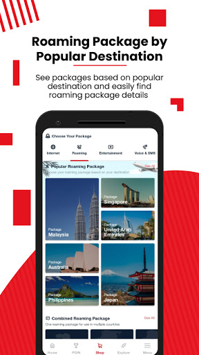 MyTelkomsel u2013 Check & Buy Packages, Redeem POIN 5.10.3 Screenshots 8