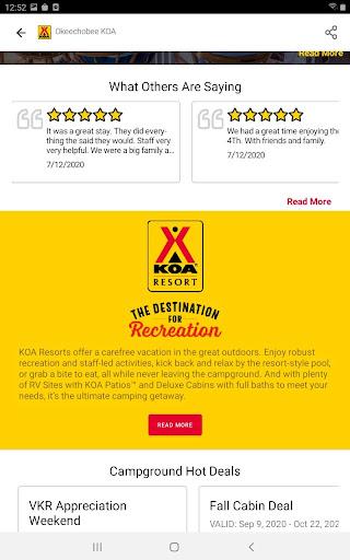 KOA | RV, Cabin & Tent Camping android2mod screenshots 15
