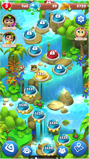 Gemmy Lands: Gems and New Match 3 Jewels Games apkslow screenshots 7