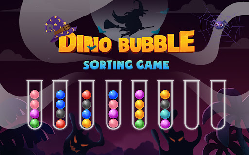 Color Ball Sort Puzzle - Dino Bubble Sorting Game  screenshots 7