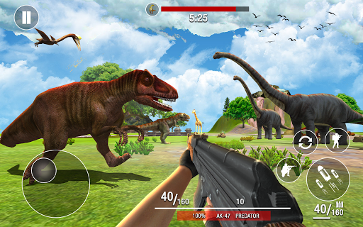Dinosaurs Hunter Wild Jungle Animals Shooting Game 3.7 screenshots 1