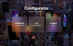 screenshot of Samsung Configurator