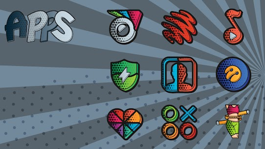 Download Comics Icon Pack 1.0.3 (Patched) 4