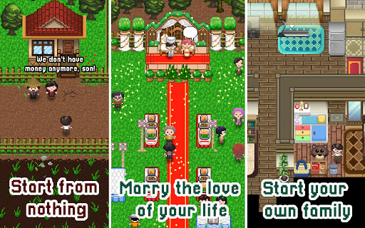 Citampi Stories: Offline Love and Life Sim RPG screenshots 3