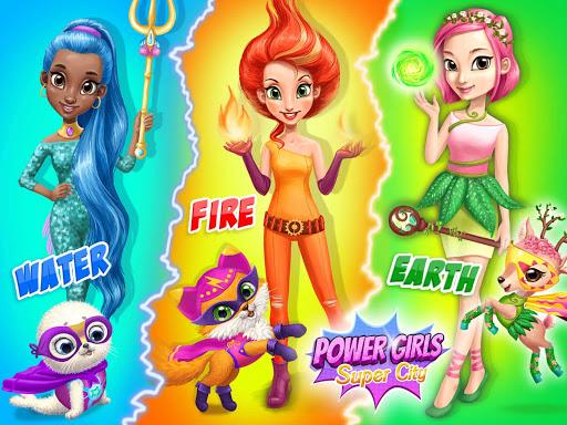 Power Girls Super City - Superhero Salon & Pets 7.0.50010 Screenshots 10